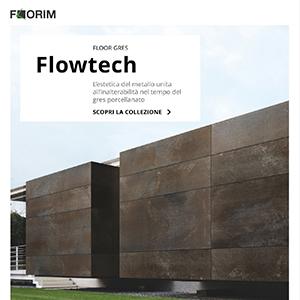 Crea un look industriale con lastre effetto metallo Flowtech