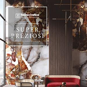 Super Preziosi, i nuovi Pannelli Decorativi di Tecnografica