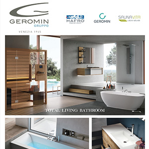 Total living bathroom Gruppo Geromin