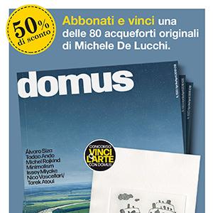 Con Domus vinci l'arte firmata M. De Lucchi