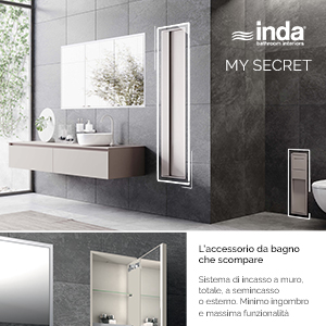 Accessori bagno a scomparsa My Secret by Inda