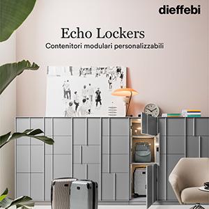 Contieni, organizza gli spazi e arreda con gli Echo Lockers Dieffebi