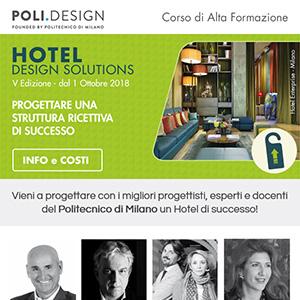 Progetta strutture ricettive di successo con POLI.design