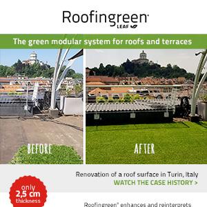 Roofingreen: il modulo green che riqualifica terrazzi e tetti piani