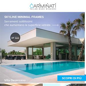 Serramenti sottilissimi Skyline Minimal Frames
