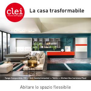 Clei: La casa trasformabile – abitare lo spazio flessibile