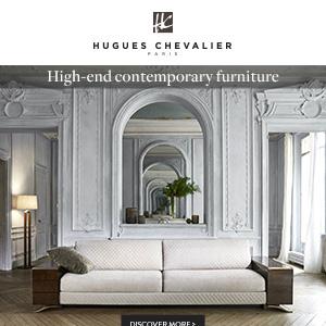 Ispirazione Art Deco: arredi d'alta gamma Hugues Chevalier
