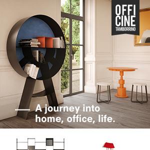 Officine Tamborrino: abitare la casa, l'ufficio e gli spazi condivisi