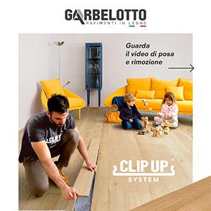 Il parquet facile: Clip Up System Garbelotto scarica il catalogo