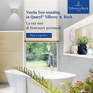 Vasche da bagno freestanding in Quaryl di Villeroy&Boch