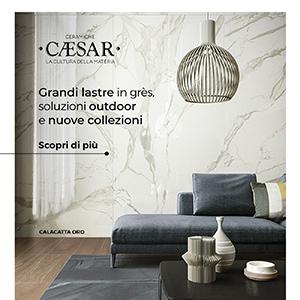 Grandi lastre in grès Ceramiche Caesar: soluzioni outdoor e nuove collezioni