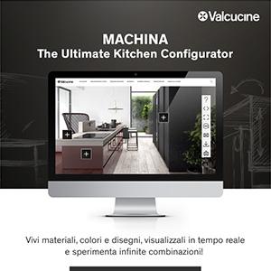Valcucine, prova il nuovo configuratore online