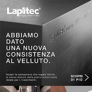 Rivestimenti in pietra sinterizzata: VELVET by Lapitec