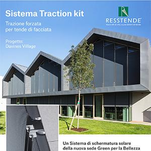 Sistema di schermatura solare per tende di facciata Resstende: bellezza sostenibile