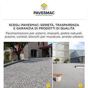 Pavimentazioni per esterni, murature e arredo urbano Pavesmac - Servizio