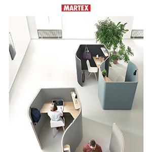 Contemporary office: nuova collezione Nucleo by Martex