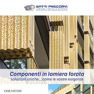 Componenti in lamiera forata per l'architettura Gatti Precorvi: guarda la case history