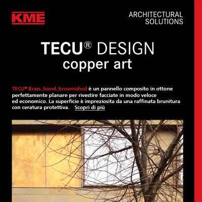 Spettacolari rivestimenti di facciata con TECU Design