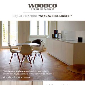 Woodco riqualifica gli interni di Palazzo Galante Gadaleta
