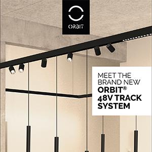 Scopri il nuovo Orbit 48V track system