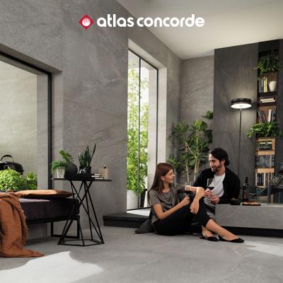 Pavimenti e rivestimenti effetto pietra ispirati alla natura by Atlas Concorde