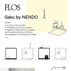 Flos, scopri la nuova lampada Gaku di Nendo