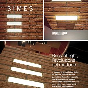 Simes presenta il mattone luminoso Brick of Light