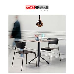 Scab Design collezione Lisa: nuove sedie dal fascino retrò