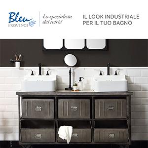 Metropolitan, il look industriale per il tuo bagno di Bleu Provence