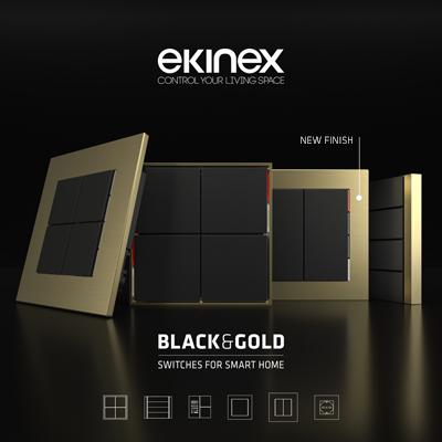 Interruttori Ekinex con nuove finiture: ottieni il Pocketbox