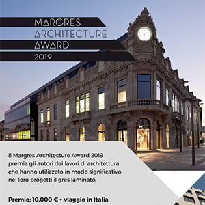Partecipa al Margres Architecture Award 2019. Termine ultimo 30 gennaio