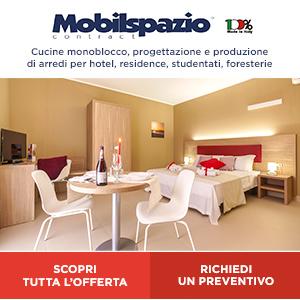 Mobilspazio: cucine monoblocco e arredi per hotel e residence