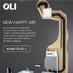 Cassetta di scarico eco-sostenibile New Happy Air by OLI