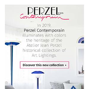 Perzel Contemporain, illuminazione a colori by Jean Perzel