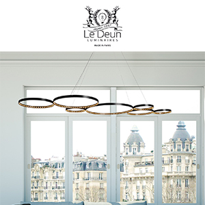Le Deun Luminaires: illuminazione geometrica a Led, scarica il catalogo
