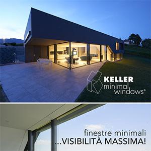 Finestre minimali Keller, visibilità massima!