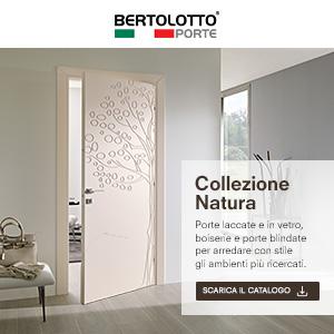 Bertolotto Porte, collezione Natura: ispirazioni floreali per decorazioni senza tempo