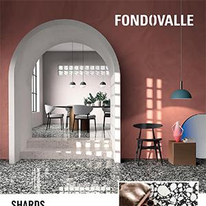 La reinterpretazione del terrazzo veneziano in chiave ceramica: Shards by Fondovalle