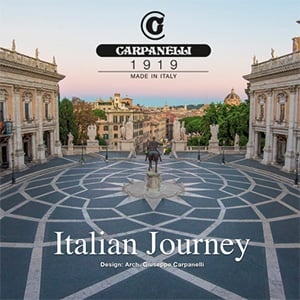 Carpanelli, Italian Journey: gli arredi ispirati all'arte italiana