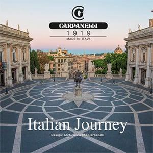Carpanelli, Italian Journey: gli arredi ispirati all'arte italiana