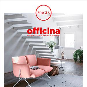 Sedute e accessori in ferro forgiato Officina by Magis