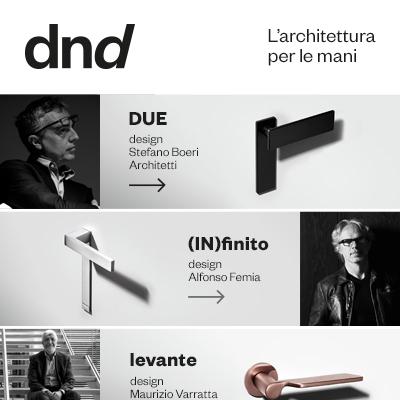 Maniglie Dnd: l'architettura per le mani