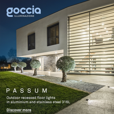 Lampade LED ad incasso per esterno: Passum by Goccia