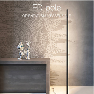 Piantana LED dimmerabile ED Pole by Quicklighting