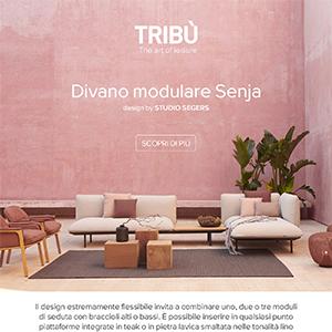 Rilassati con Tribù: Senja, il divano modulare
