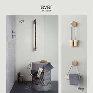 Accessori multifunzione per il bagno e la casa EVER Life Design