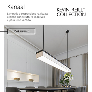 Lampada a sospensione Kanaal by Kevin Reilly Collection
