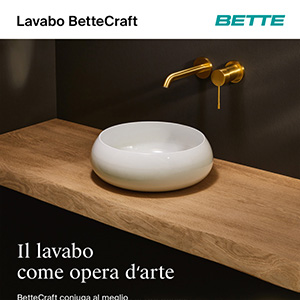 Il lavabo come opera d'arte: BetteCraft