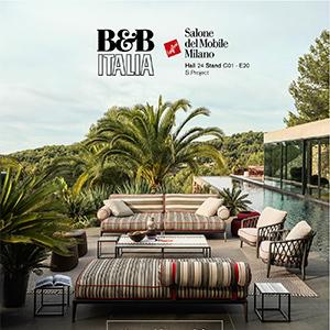 B&B Italia: scopri le nuove collezioni outdoor 2019