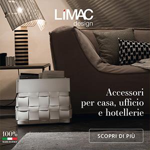 Accessori d'arredo artigianali per la casa, l'ufficio e l'hotellerie Limac design